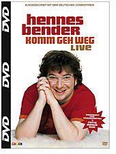 Hennes Bender: Komm geh weg - live, Hennes Bender