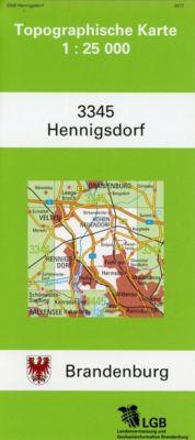 Henningsdorf 1 : 25 000