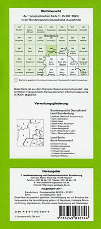 Henningsdorf 1 : 25 000 - Produktdetailbild 1