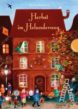 Herbst im Holunderweg, Martina Baumbach