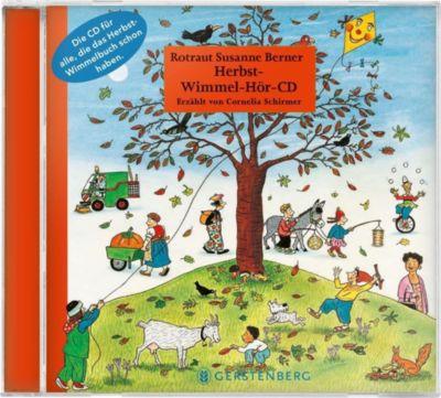 Herbst-Wimmel-Hör-CD, 1 Audio-CD, Rotraut Susanne Berner, Wolfgang Von Henko, Ebi Naumann