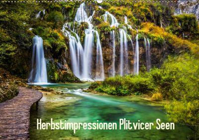 Herbstimpressionen Plitvicer SeenAT-Version (Wandkalender 2019 DIN A2 quer), Franz Kaufmann