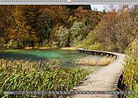 Herbstimpressionen Plitvicer SeenAT-Version (Wandkalender 2019 DIN A2 quer) - Produktdetailbild 4