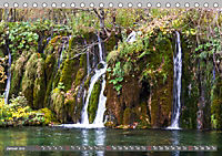 Herbstimpressionen Plitvicer SeenAT-Version (Tischkalender 2019 DIN A5 quer) - Produktdetailbild 1