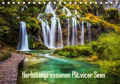 Herbstimpressionen Plitvicer SeenAT-Version (Tischkalender 2019 DIN A5 quer), Franz Kaufmann
