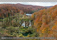 Herbstimpressionen Plitvicer SeenAT-Version (Tischkalender 2019 DIN A5 quer) - Produktdetailbild 3