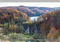 Herbstimpressionen Plitvicer SeenAT-Version (Tischkalender 2019 DIN A5 quer) - Produktdetailbild 12