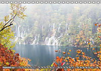 Herbstimpressionen Plitvicer SeenAT-Version (Tischkalender 2019 DIN A5 quer) - Produktdetailbild 9