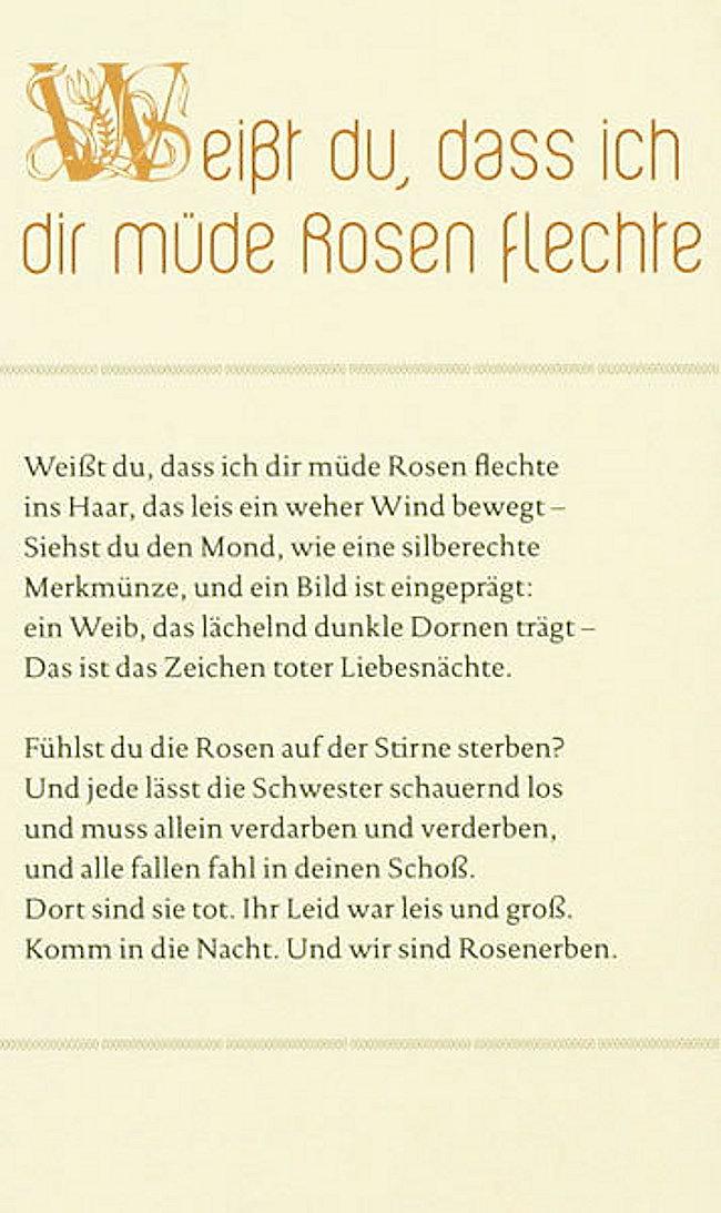 Herbstspaziergang Mit Rilke Buch Bei Weltbild De Online Bestellen