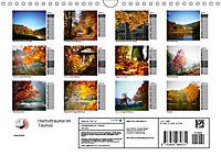 Herbstträume im Taunus (Wandkalender 2019 DIN A4 quer) - Produktdetailbild 13