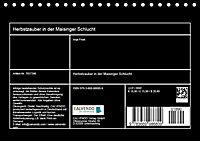 Herbstzauber in der Maisinger Schlucht (Tischkalender 2019 DIN A5 quer) - Produktdetailbild 9