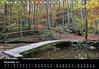 Herbstzauber in der Maisinger Schlucht (Tischkalender 2019 DIN A5 quer) - Produktdetailbild 11