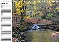 Herbstzauber in der Maisinger Schlucht (Tischkalender 2019 DIN A5 quer) - Produktdetailbild 1