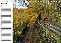 Herbstzauber in der Maisinger Schlucht (Tischkalender 2019 DIN A5 quer) - Produktdetailbild 4
