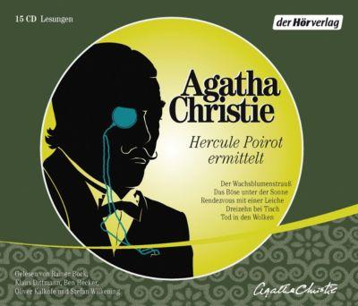 Hercule Poirot ermittelt, 15 CDs - Agatha Christie |
