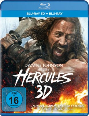 Hercules (2014) - 3D-Version, Dwayne Johnson,Ian McShane John Hurt