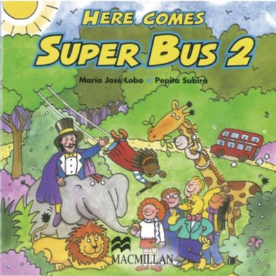 Here comes Super Bus: Level.2 2 Audio-CDs, Maria José Lobo, Pepita Subirà