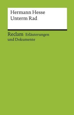 Hermann Hesse 'Unterm Rad', Hermann Hesse