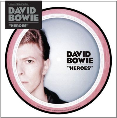 Heroes (40th Anniversary Edition) (7 Vinyl Picture Disc), David Bowie