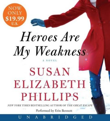 Heroes Are My Weakness, Audio-CDs, Susan E. Phillips