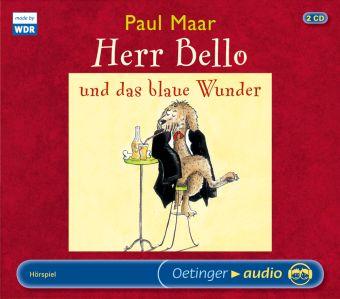 Herr Bello und das blaue Wunder, 2 Audio-CDs, Paul Maar