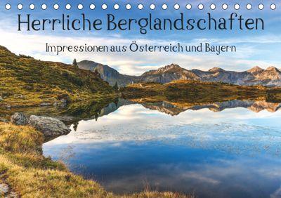 Herrliche Berglandschaften - Impressionen aus Österreich und BayernAT-Version (Tischkalender 2019 DIN A5 quer), Hannes Brandstätter