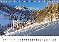 Herrliche Berglandschaften - Impressionen aus Österreich und BayernAT-Version (Tischkalender 2019 DIN A5 quer) - Produktdetailbild 2