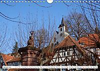 Herrliche Bergstraße Vorbei an Weinbergen und Fachwerkstädtchen (Wandkalender 2019 DIN A4 quer) - Produktdetailbild 1