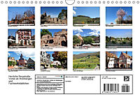 Herrliche Bergstrasse Vorbei an Weinbergen und Fachwerkstädtchen (Wandkalender 2019 DIN A4 quer) - Produktdetailbild 13
