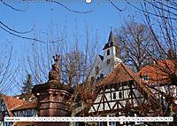 Herrliche Bergstrasse Vorbei an Weinbergen und Fachwerkstädtchen (Wandkalender 2019 DIN A2 quer) - Produktdetailbild 1