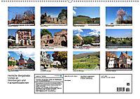 Herrliche Bergstrasse Vorbei an Weinbergen und Fachwerkstädtchen (Wandkalender 2019 DIN A2 quer) - Produktdetailbild 13