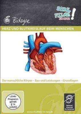 Herz und Blutkreislauf beim Menschen, 1 DVD