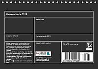Herzenshunde 2019 (Tischkalender 2019 DIN A5 quer) - Produktdetailbild 13