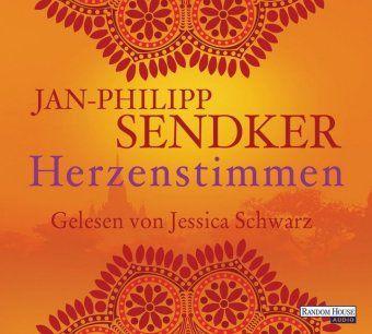 Herzenstimmen, 5 Audio-CDs, Jan-Philipp Sendker