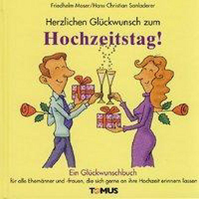Herzlichen Gluckwunsch Zum Hochzeitstag Buch Weltbild De