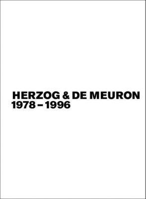 Herzog & de Meuron 1978-1996 / 3 Bd., Gerhard Mack