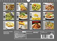 Heute gibt es Nudeln! Basta! Pasta-Impressionen (Wandkalender 2019 DIN A4 quer) - Produktdetailbild 7