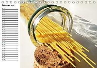 Heute gibt es Nudeln! Basta! Pasta-Impressionen (Tischkalender 2019 DIN A5 quer) - Produktdetailbild 2