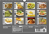 Heute gibt es Nudeln! Basta! Pasta-Impressionen (Wandkalender 2019 DIN A4 quer) - Produktdetailbild 13