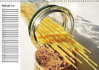 Heute gibt es Nudeln! Basta! Pasta-Impressionen (Wandkalender 2019 DIN A3 quer) - Produktdetailbild 2