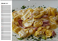Heute gibt es Nudeln! Basta! Pasta-Impressionen (Wandkalender 2019 DIN A2 quer) - Produktdetailbild 1