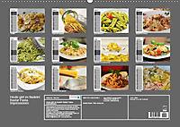 Heute gibt es Nudeln! Basta! Pasta-Impressionen (Wandkalender 2019 DIN A2 quer) - Produktdetailbild 13