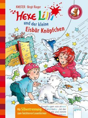 Hexe Lilli und der kleine Eisbär Knöpfchen, Knister, Birgit Rieger
