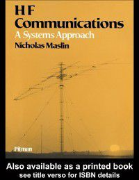 HF Communications, Nicholas M Maslin
