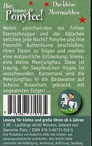 Hier kommt Ponyfee!, Cassetten: Das kleine Meermädchen, 1 Cassette - Produktdetailbild 1