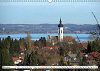 Highlights im Münchner Vierseenland (Wandkalender 2019 DIN A3 quer) - Produktdetailbild 6