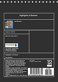 Highlights in Bremen (Tischkalender 2019 DIN A5 hoch) - Produktdetailbild 13