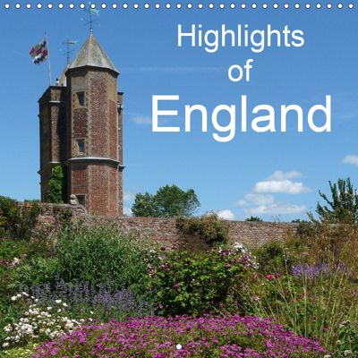 Highlights of England (Wall Calendar 2019 300 × 300 mm Square), Gisela Kruse
