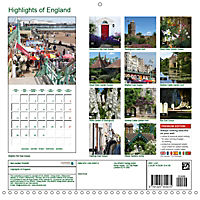 Highlights of England (Wall Calendar 2019 300 × 300 mm Square) - Produktdetailbild 13