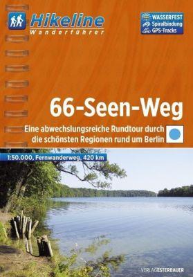 Hikeline Wanderführer Fernwanderweg 66-Seen-Weg